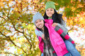Young Asian Girls in Park Stock Photography