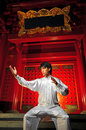 Young Asian Man In Traditional Clothing Royalty Free Stock Photo