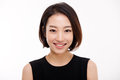 Young Asian pretty business woman close up portrait . Royalty Free Stock Photo