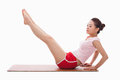 Young Asian woman  exercise yoga Royalty Free Stock Image