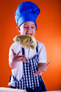 Young baker 1 Royalty Free Stock Image