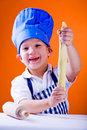 Young baker 2 Royalty Free Stock Photo