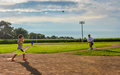 Young Batter - Field of Dreams Movie Site - Dyersville, Iowa Royalty Free Stock Photo