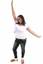 Young beautiful black teenager Royalty Free Stock Photo
