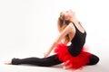 Young beautiful dancer Stock Photo