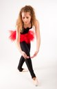 Young beautiful dancer Stock Photography