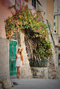 Young beautiful girl with hat and summer dress on italian street Royalty Free Stock Photo