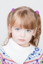 Young beautiful little girl Royalty Free Stock Photography
