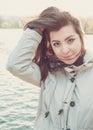 Young Beautiful Turkish Girl P...