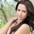 Young Beautiful Woman Face - C...