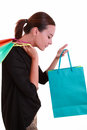Young beautiful woman with shopping bags Stock Image