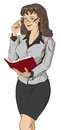 Young beautiful woman teacher holding open book Royalty Free Stock Photo
