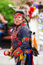 Young Blackfoot Indian Dancer Royalty Free Stock Photo
