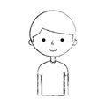 Young boy avatar character