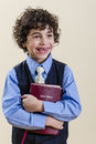 Young Boy Holding a Bible Royalty Free Stock Images