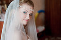 Young bride the and beautiful is happy with the appearance Royalty Free Stock Images