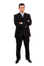 Young business man full body Royalty Free Stock Photo