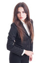 Young business woman with attitude Royalty Free Stock Photo