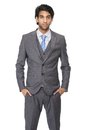 Young businessman isolated on white background Royalty Free Stock Photo