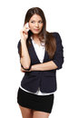 Young businesswoman making a call Royalty Free Stock Photo