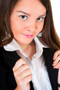 Young businesswoman portrait Stock Photography