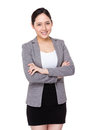Young businesswoman portrait Royalty Free Stock Photo