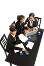 Young businesswomen, meeting Royalty Free Stock Images