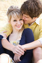 Young caucasian couple in love Royalty Free Stock Photos