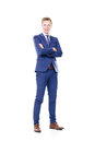 Young and confident business man. Royalty Free Stock Photo