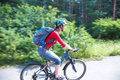 Young cyclist Royalty Free Stock Images