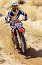 Young Dirt Bike Racer Stock Images