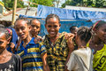 Young ethiopian girls at a market in Jimma, Ethiopia