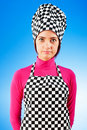 Young female cook Royalty Free Stock Photo