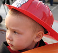 Young Fireman Royalty Free Stock Photo