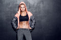 Young fitness woman Royalty Free Stock Photo