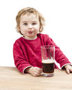 Young girl drinking beer Royalty Free Stock Photo