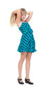 Young Girl Standing In Studio Royalty Free Stock Photo