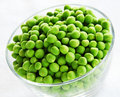 Young green peas Stock Image