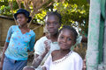 Young Haitian Girls Royalty Free Stock Photography