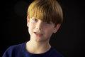 A Young Handsome Boy and His Green Braces Royalty Free Stock Photo