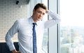 Young handsome business man Royalty Free Stock Photo