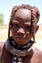 Young Himba Girl Royalty Free Stock Photo