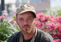 Young homeless man Royalty Free Stock Photo
