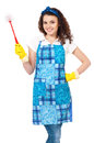 Young housewife Royalty Free Stock Photography