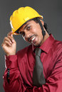 Young indian architect Royalty Free Stock Photo