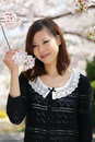 Young japanese woman Stock Image