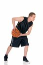 Young male basketball player Stock Photos