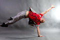 Young male dancer Royalty Free Stock Photo