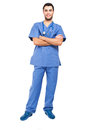 image photo : Young male nurse