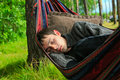 Young man sleeping Royalty Free Stock Image